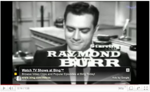 Perry Mason on YouTube