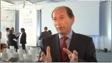 Paul Bulcke, Nestlé CEO, talks about the creation of Nestlé Health Science and the Nestlé Institute of Health Sciences