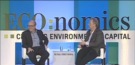 Alan Murray interviews Nathan Myhrvold at The Wall Street Journal's ECO:nomics Conference
