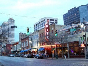 Austin's Famous 6th Street - Heart of the Music Capital of the World and Venue of the Eighth Annual TFI Communications Technology Asset Valuation Conference
