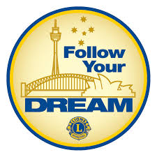 Lions Club Logo - Follow Your Dream